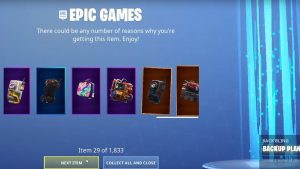 Fortnite Cosmetic Gifter | 1,833 Items Free Download
